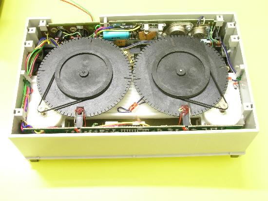 Tesla BT-100, vnitřek tiskárny