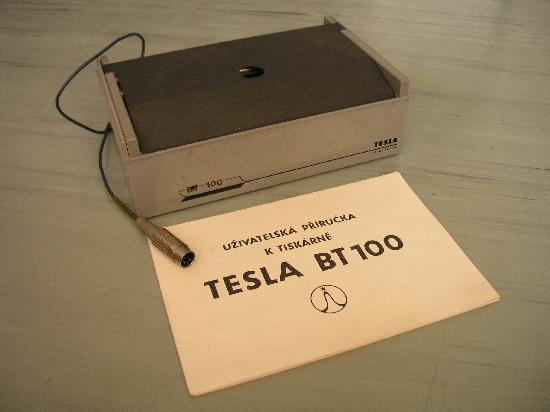 Tesla BT-100, tiskárna jednojehličková