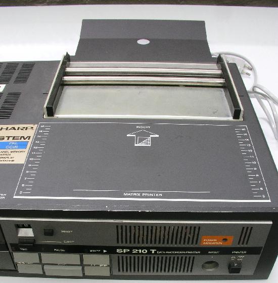 Tesla BT-100, tiskárna jako součást sestavy Tesla SP-210T